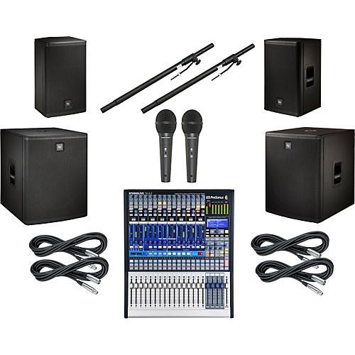 PreSonus StudioLive 16.4.2 EV Live X Dual Sub PA Package-thumbnail