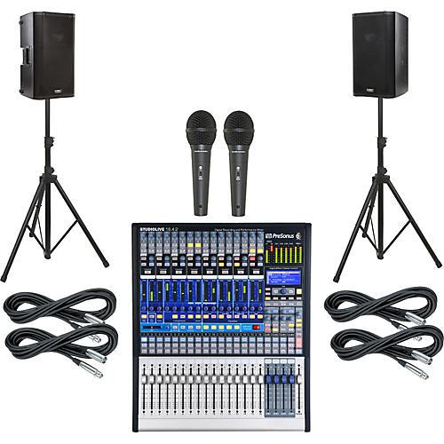 PreSonus StudioLive 16.4.2 PA Package with QSC K10 Speakers