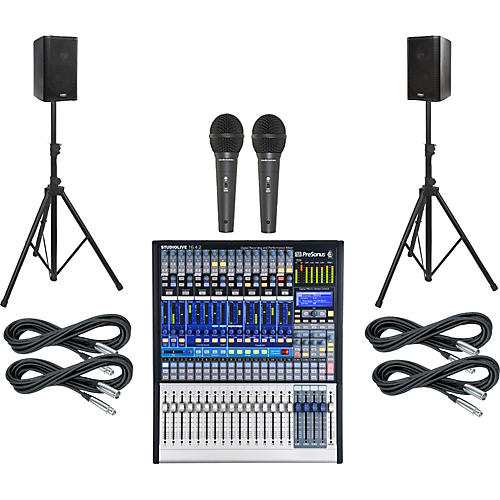 PreSonus StudioLive 16.4.2 PA Package with QSC K8 Speakers-thumbnail