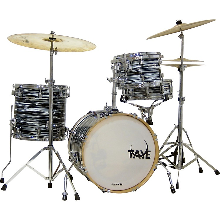 Taye Drums StudioMaple SM418BP 4-Piece Shell Pack Black Oyster
