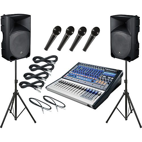 PreSonus Studiolive 16.0.2 / Mackie Thump TH-15A PA Package