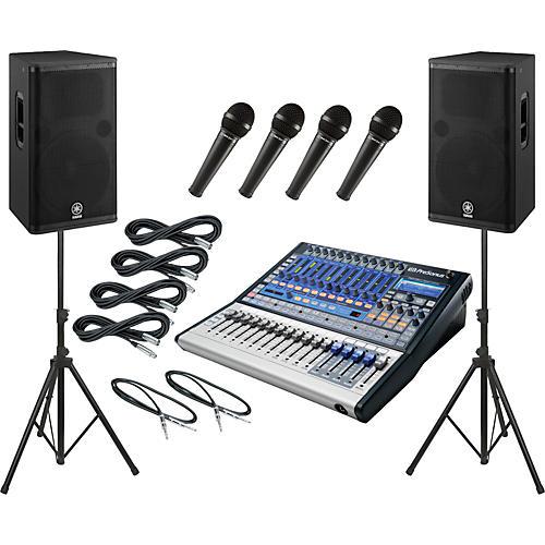 PreSonus Studiolive 16.0.2 / Yamaha DSR115 PA Package
