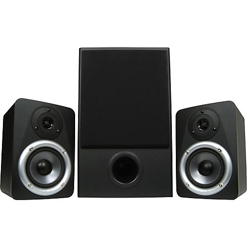 M-Audio Studiophile LX4 2.1 Expandable Surround Sound Monitoring System