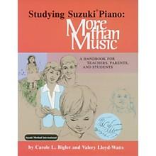 Alfred Studying Suzuki Piano: More Than Music (Book)