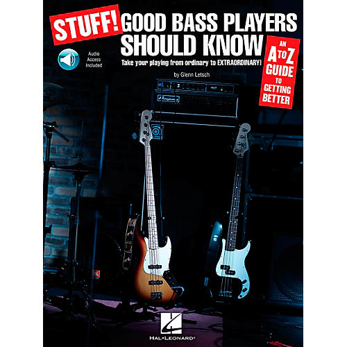 Hal Leonard Stuff! Good Bass Players Should Know - An A-Z Guide To Getting Better (Book/CD)