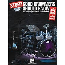 Hal Leonard Stuff! Good Drummers Should Know (Book/CD)