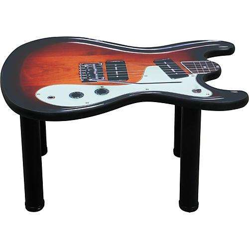 Wilson Brothers Style Guitar End Table-thumbnail