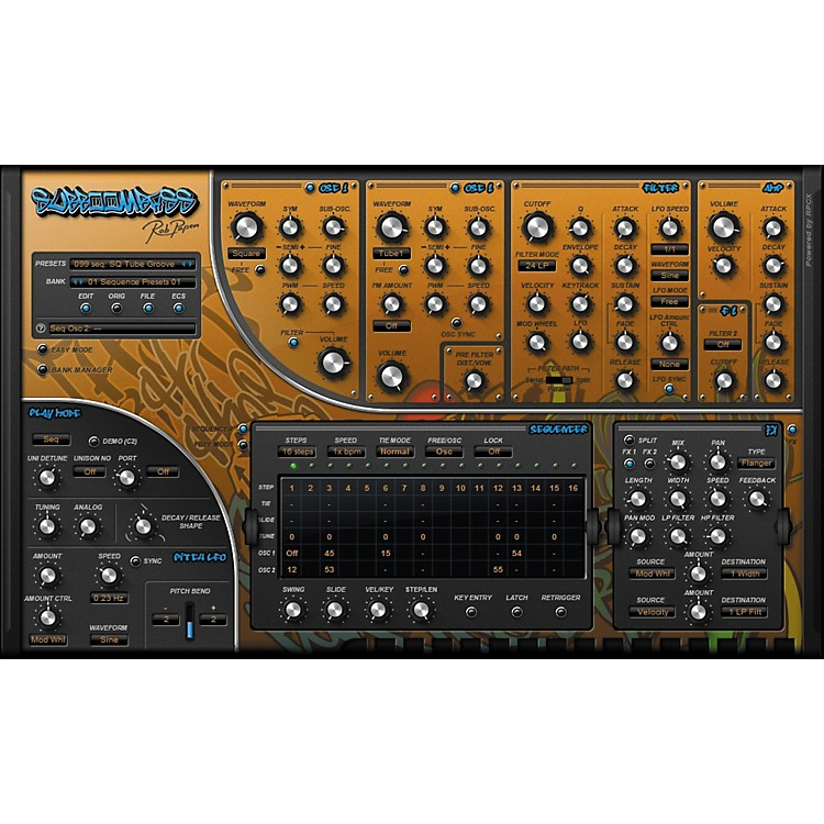 Rob Papen Sub Boom Bass Virtual Synth