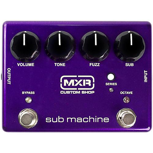 MXR Sub Machine Octave Fuzz Pedal-thumbnail