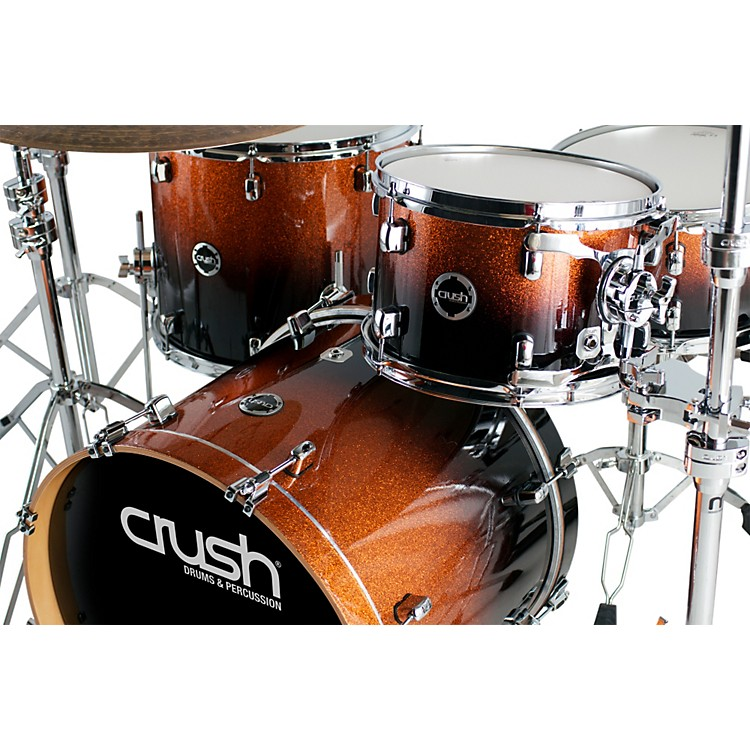 Crush Drums & Percussion Sublime E3 Maple 4-Piece Shell Pack High Gloss Lacquer with 22 Inch Bass Drum