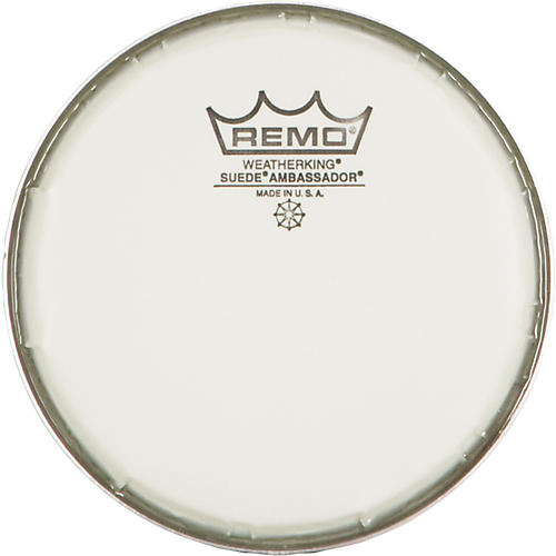 Remo Suede Ambassador Drum Heads 6 in.