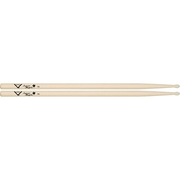 Vater Sugar Maple Drumsticks Nylon 7A