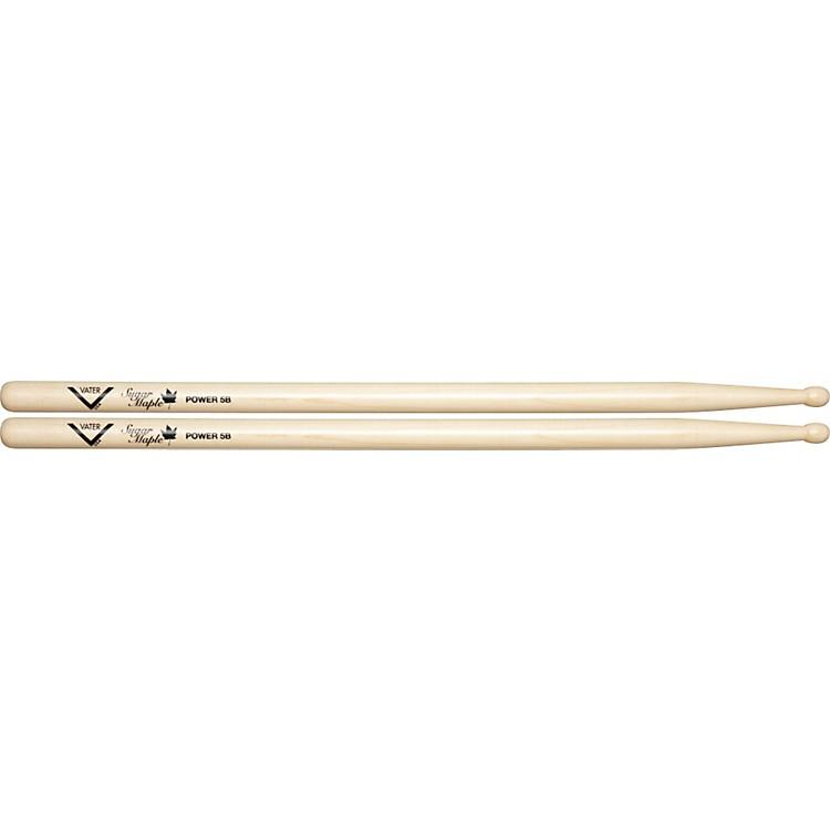 VaterSugar Maple DrumsticksPower 5BWood Tip