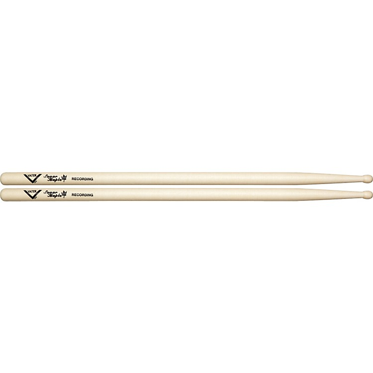Vater Sugar Maple Drumsticks Recording Wood