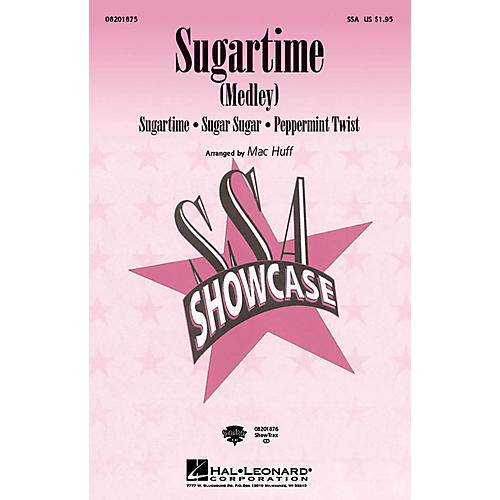 Hal Leonard Sugartime (Medley) SSA arranged by Mac Huff-thumbnail