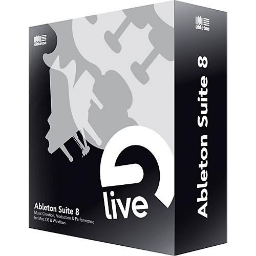 Ableton Suite 8 Upgrade from LE