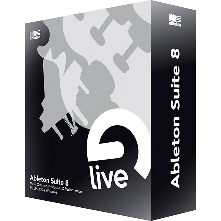AbletonSuite 8 Upgrade from Live 8