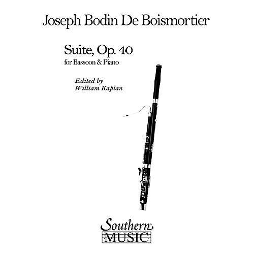 Southern Suite (Bassoon) Southern Music Series Arranged by William Kaplan-thumbnail