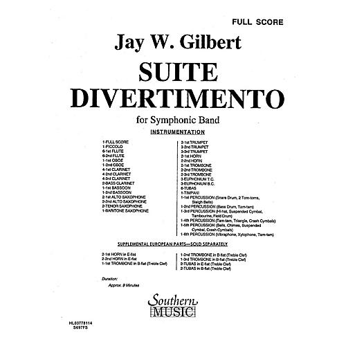 Southern Suite Divertimento (Band/Concert Band Music) Concert Band Level 4 Composed by Jay W. Gilbert-thumbnail