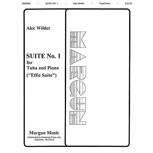 Margun Music Suite No. 1 (Effie) (Tuba in C (B.C.) and Piano) Shawnee Press Series-thumbnail