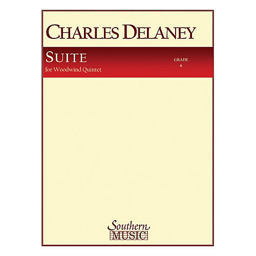 Southern Suite (Woodwind Quintet) Southern Music Series by Charles Delaney-thumbnail
