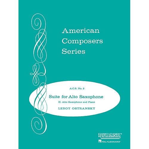 Rubank Publications Suite for Alto Saxophone (Grade 4) Rubank Solo/Ensemble Sheet Series-thumbnail