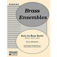 Rubank Publications Suite for Brass Sextet (Grade 3) Rubank Solo/Ensemble Sheet Series