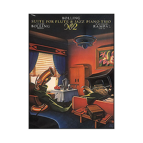 Hal Leonard Suite for Flute & Jazz Piano Trio #2