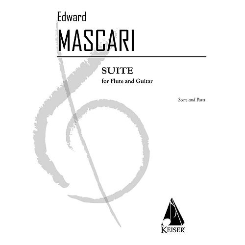 Lauren Keiser Music Publishing Suite for Flute and Guitar LKM Music Series Composed by Edward P. Mascari