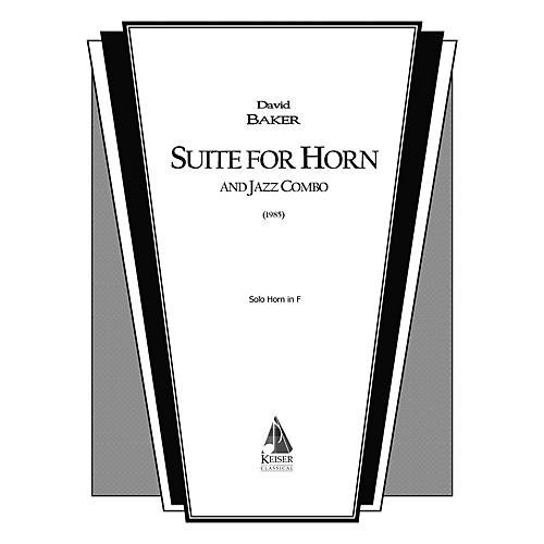 Lauren Keiser Music Publishing Suite for Horn and Jazz Combo (Horn Part) LKM Music Series-thumbnail