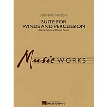 Hal Leonard Suite for Winds and Percussion Concert Band Level 4 Composed by Johnnie Vinson