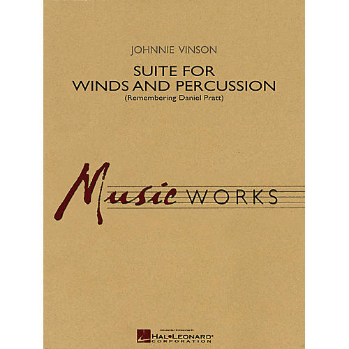 Hal Leonard Suite for Winds and Percussion Concert Band Level 4 Composed by Johnnie Vinson-thumbnail