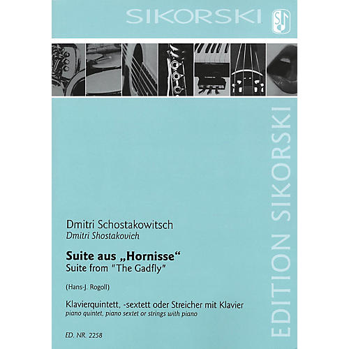 Sikorski Suite from The Gadfly (Score and Parts) Ensemble Series-thumbnail