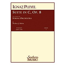 Southern Suite in C, Op 8 (String Orchestra) Southern Music Series Arranged by Walter J. Halen