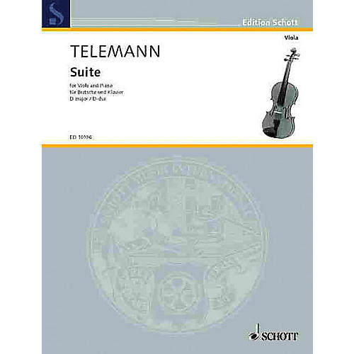 Schott Suite in D Major Schott Series Composed by Georg Philipp Telemann Arranged by Walter Bergmann-thumbnail