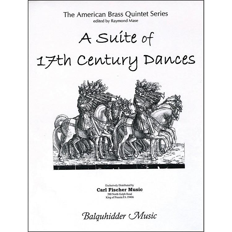 Carl FischerSuite of 17th Century Dances, A Book