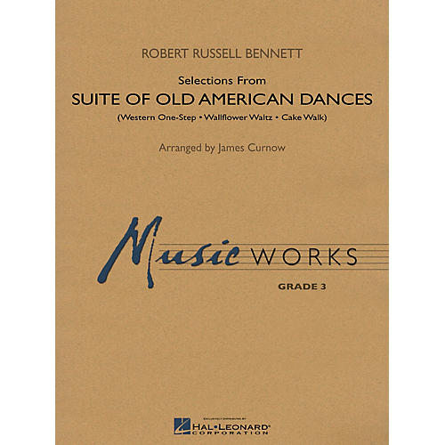 Hal Leonard Suite of Old American Dances (Selections) Concert Band Level 3 Arranged by James Curnow