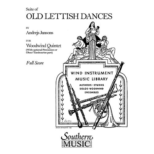 Southern Suite of Old Lettish Dances (Woodwind Quintet) Southern Music Series by Andrejs Jansons-thumbnail