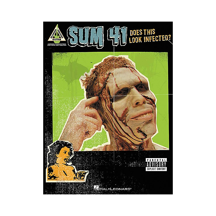 Hal Leonard Sum 41 Does This Look Infected? Guitar Tab Songbook