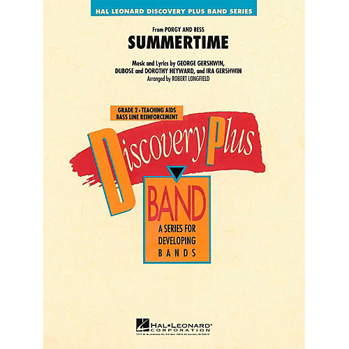 Hal Leonard Summertime (From Porgy and Bess)  - Discovery Plus Concert Band Level 2-thumbnail