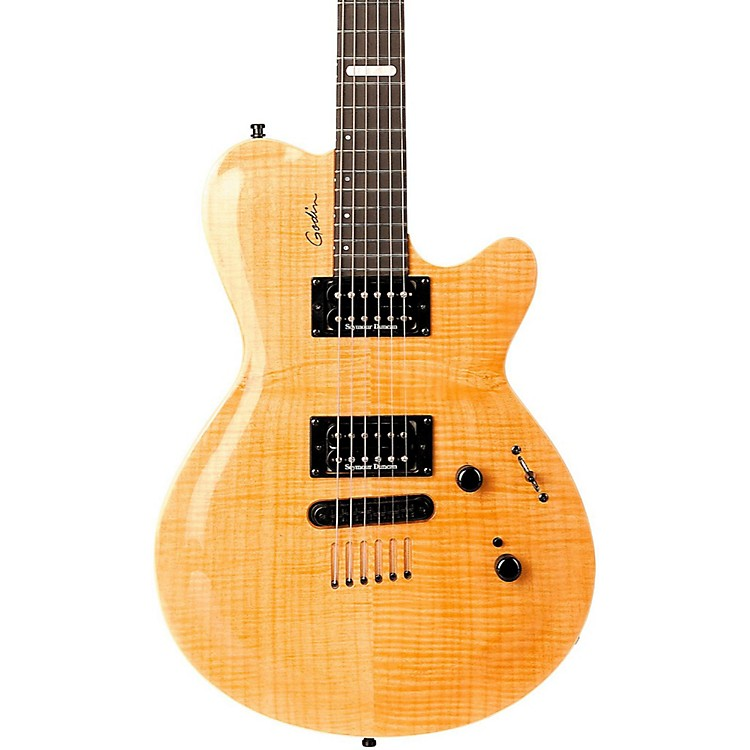 Godin Summit CT Electric Guitar Natural Flame