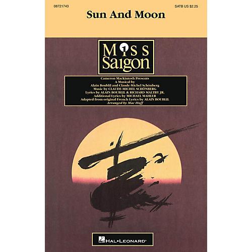 Hal Leonard Sun and Moon SATB arranged by Mac Huff
