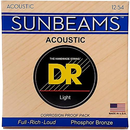DR Strings Sunbeam Phosphor Bronze Medium Acoustic Guitar Strings-thumbnail