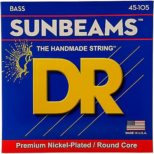 DR Strings Sunbeams NMR-45 Medium 4-String Bass Strings-thumbnail