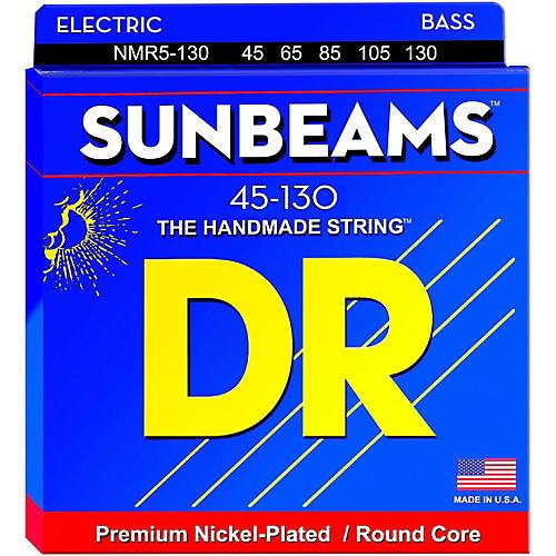 DR Strings Sunbeams NMR5-130 Medium 5-String Bass Strings .130 Low B-thumbnail