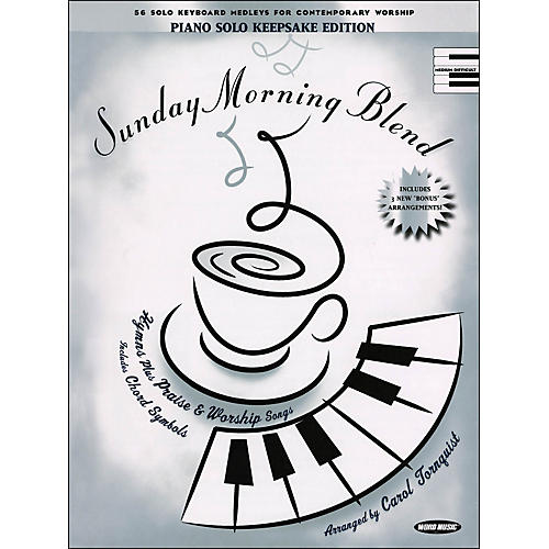 Word Music Sunday Morning Blend Keepsake Edition arranged for piano, vocal, and guitar (P/V/G)-thumbnail