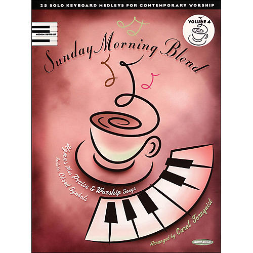 Word Music Sunday Morning Blend Vol 4 arranged for piano, vocal, and guitar (P/V/G)-thumbnail
