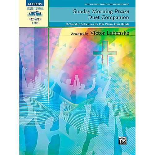 Alfred Sunday Morning Praise Duet Companion - Intermediate / Late Intermediate-thumbnail