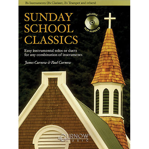 Curnow Music Sunday School Classics (For Bb Instruments - Grade 2.5) Concert Band Level 2.5-thumbnail