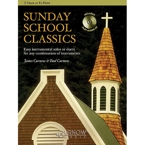 Curnow Music Sunday School Classics (For F Horn or Eb Horn Instruments - Grade 2.5) Concert Band Level 2.5-thumbnail